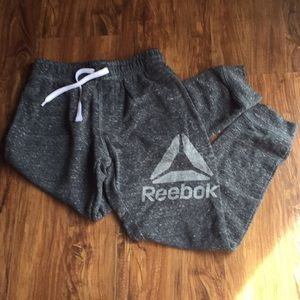 Reebok gray sweat pants